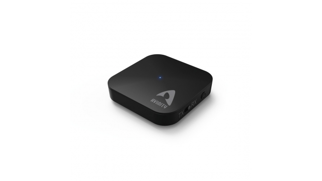 Avinity Bluetooth-audio-zender/ontvanger ABT-632 2in1-adapter Zwart