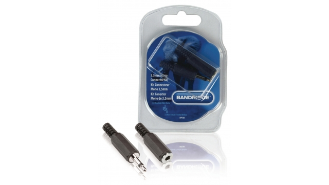 Bandridge BPP300 Audio Connector Kit 3.5 Mm Zwart