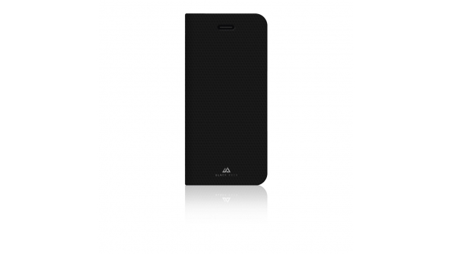 Black Rock Booklet Case Material Pure Voor Apple IPhone 6/6S/7/8 Zwart