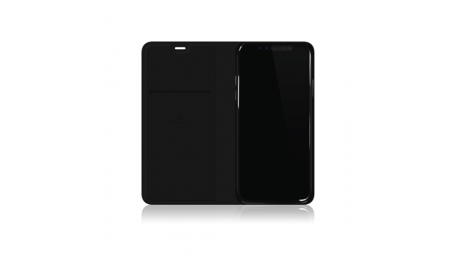 Black Rock Booklet Material Pure IPhone X Zwart