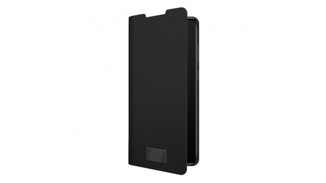 Black Rock Booklet The Standard Voor Samsung Galaxy S20 Plus Zwart