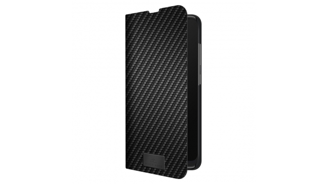Black Rock Booklet Flex Carbon Voor Samsung Galaxy A71 Zwart