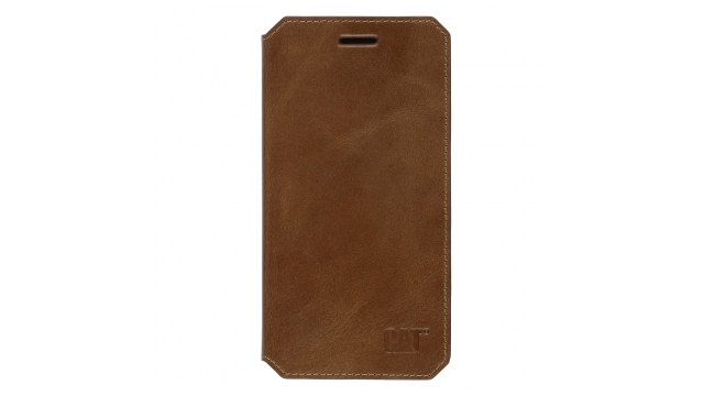 Cat Leather Booklet Active Signature IPhone 6/6s Cognac