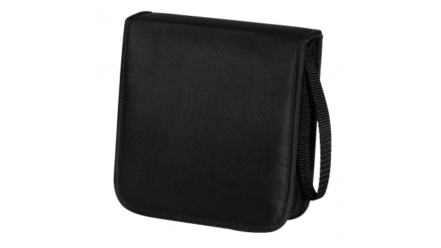 Hama Cd Wallet Nylon 20 Zwart