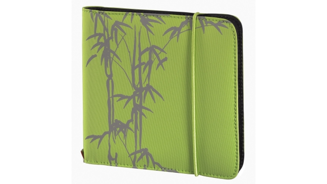 Hama Wallet Up To Fashion Voor 24 CD/DVD/Blu-ray Groen