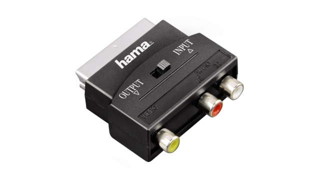 Hama Adapter Scart - 3RCA IN/OUT