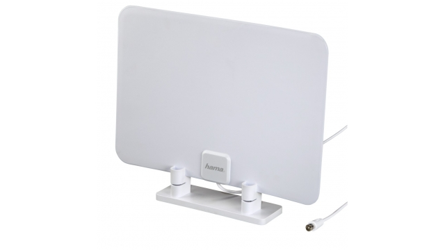 Hama DVB-T/DVB-T2 Kamerantenne Performance 15 Superplat Passief Wit