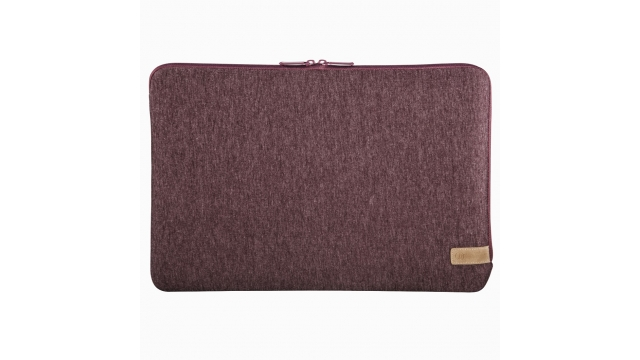 Hama Notebook-sleeve Jersey Tot 34 Cm (13,3) Donkerrood
