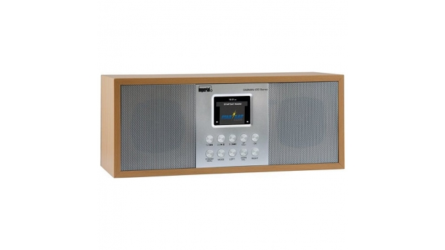 Imperial DABMAN D30 Radio Grijs/Hout