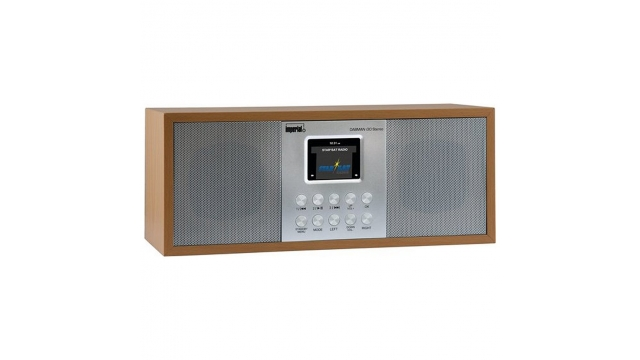 Imperial DABMAN I30 DAB+ Radio Grijs/Hout