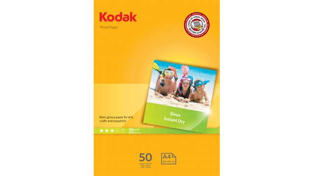 Kodak Photo A4 180gr 50 Vellen Glanzend