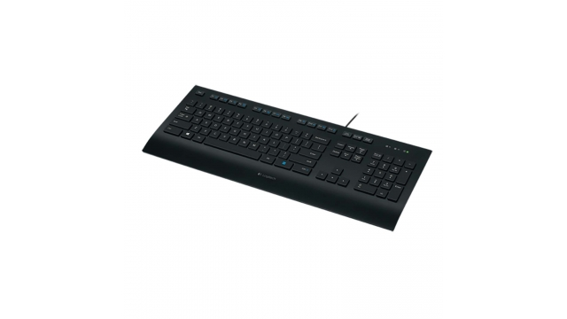 Logitech LGT-K280 Bedraad Keyboard Kantoor Usb Us International Zwart