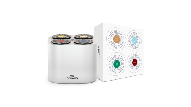 Moodo Smart Aroma Diffuser Wit Incl. Capsule Set