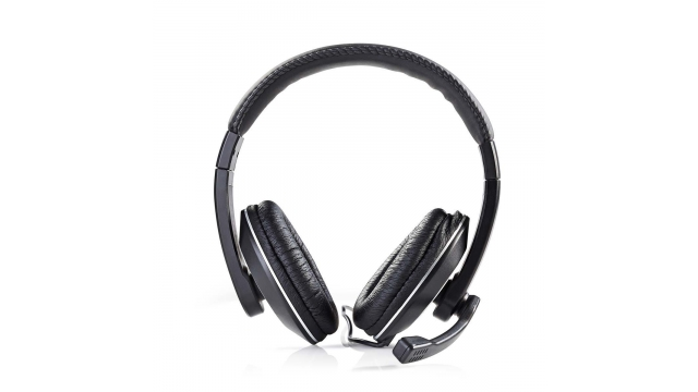 Nedis CHST200BK Pc-headset Over-ear Microfoon Dubbele 3,5 Mm Connector