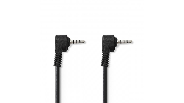 Nedis CVGB22000BK10 3,5 Mm Av-kabel 3,5 Mm Av Male - 3,5 Mm Av Male 1,0 M Zwart