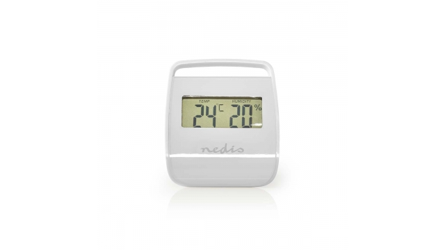 Nedis WEST100WT Thermometer Hygrometer Indoor White