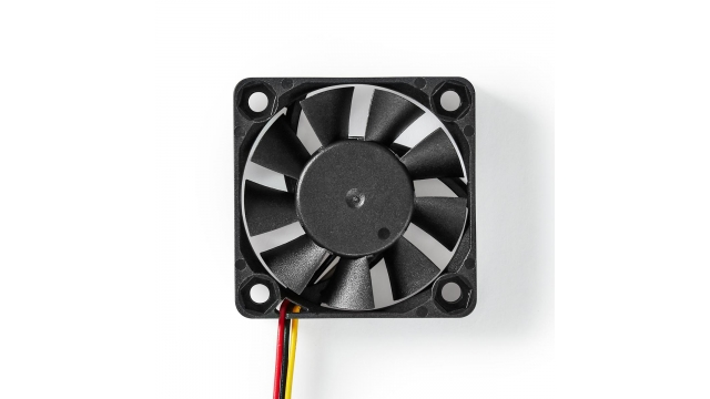 Nedis DCFAN4010BK Computerventilatordc 40 Mm 3-pins Stil