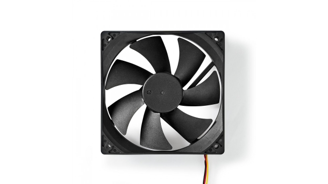 Nedis DCFAN12025BK Computerventilatordc 120 Mm 3-pin Stil