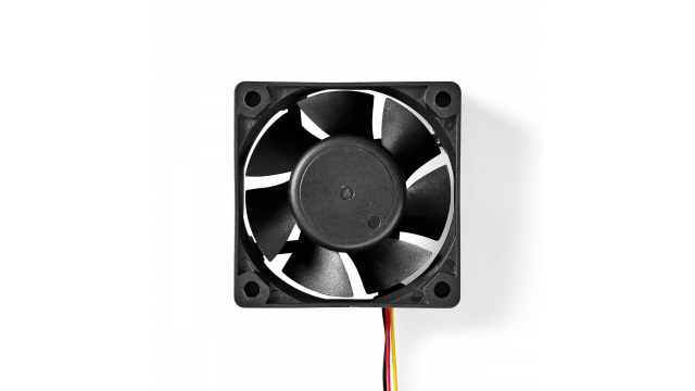 Nedis DCFAN6025BK Computerventilatordc 60 Mm 3-pins Stil