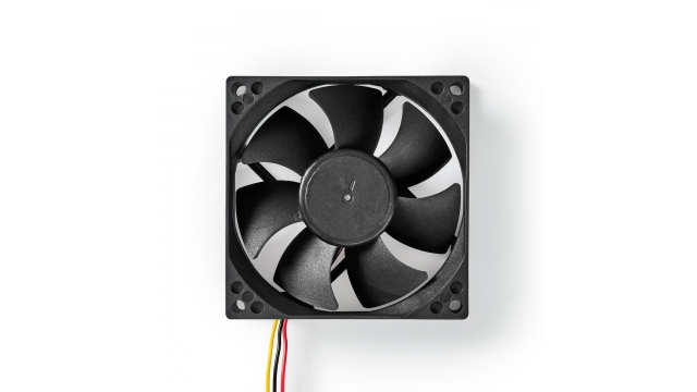 Nedis DCFAN8025BK Computerventilatordc 80 Mm 3-pin Stil