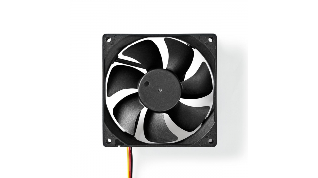 Nedis DCFAN9225BK Computerventilatordc 92 Mm 3-pin Stil