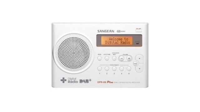 Sangean DPR-69 Professional Portable Radio Wit