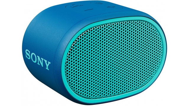 Sony SRSXB01L Bluetooth Speaker Blauw